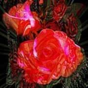 Detailed Roses Art Print