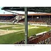 Detroit - Navin Field - Detroit Tigers - Michigan And Trumbull Avenues - 1914 Art Print