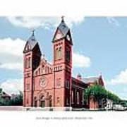 Detroit - Sheridan Avenue - St Anthony Catholic Church - 1910 Art Print
