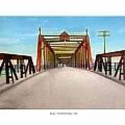 Detroit - The Belle Isle Bridge - 1908 Art Print