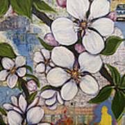 Detroit Blooms Art Print by Andrea LaHue aka Random Act