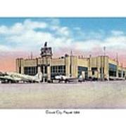 Detroit - City Airport - 1944 Art Print