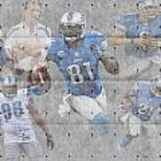 Detroit Lions Team Art Print