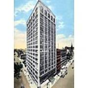 Detroit - The Kresge Building - West Adams Street - 1918 Art Print