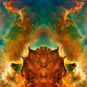 Devil Nebula Art Print