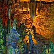 Devils Cavern Bari Greece Art Print
