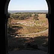 Devils Den From Little Round Top In Gettysburg Art Print by William Kuta