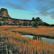 Devils Tower Daybreak Art Print