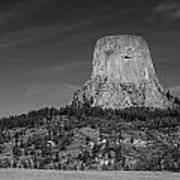Devil's Tower Art Print
