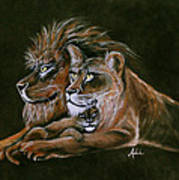 Devotion Art Print by Adele Moscaritolo