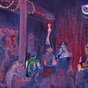 Dewey Paul Band At The Goat Nye Art Print