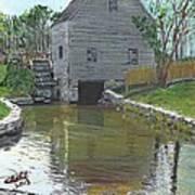 Dexter's Grist Mill - Cape Cod Art Print