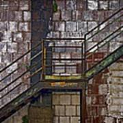 Diagonal Stairs Print by Murray Bloom