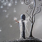 Diamond Fairy By Shawna Erback Art Print by Shawna Erback