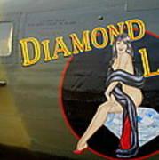 Diamond Lil B-24 Bomber Art Print