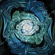 Diamond Nest Art Print
