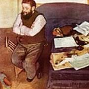 Diego Martelli  Art Print