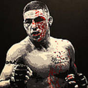 Diego Sanchez - War Art Print