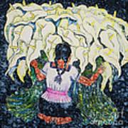 Diego's Calla Art Print