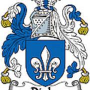 Digby Coat Of Arms Irish Art Print