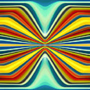 Digital Art Pattern 8 Art Print by Amy Vangsgard