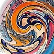 Digital Dunkin Art Print by Sarah Loft