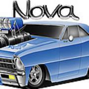 Digital Nova Art Print