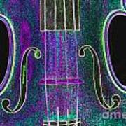 Digital Photograph Of A Viola Violin Middle 3374.03 Art Print