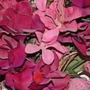 Digital Roses Art Print