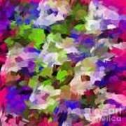Digital Touch Paint Art Print