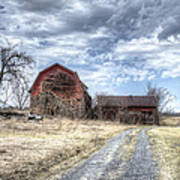Dilapidated Barn Art Print