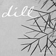 Dill Art Print by Linda Woods