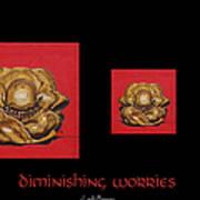 Diminishing Worries Art Print