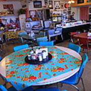Diner On Route 66 Art Print