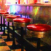 Diner - V2 - Square Art Print