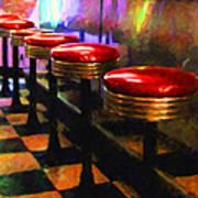 Diner - V2 Art Print