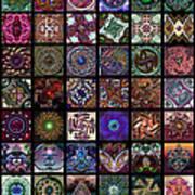 Dingbat Quilt Art Print
