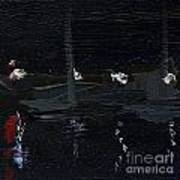 Dingle Quay By Night Detail 5 On The Wild Atlantic Way Of Western Ireland Art Print