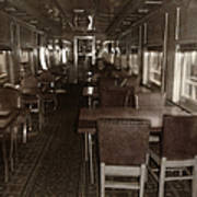 Dining Car Art Print