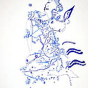Dinka Embrace Art Print