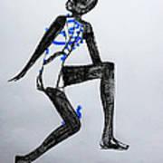 Dinka Silhouette - South Sudan Art Print
