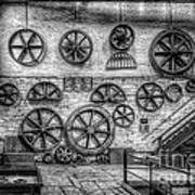 Dinorwig Quarry Workshop V2 Art Print