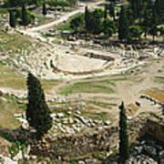 Dionysus Amphitheater Art Print