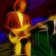Dire Straits-gd-14a-fractal Art Print