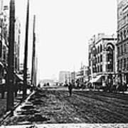 Downtown Dirt Spokane C. 1895 Art Print