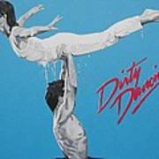 Dirty Dancing The Lift Art Print