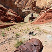 Dirty Devil Mine San Rafael Swell - Utah Art Print