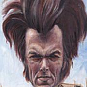 Dirty Hairy Art Print by Mark Tavares