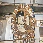 Dirty Harry's Key West - Hdr Style Art Print
