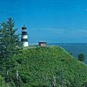 Disappointment Lighthouse In Washington State Art Print